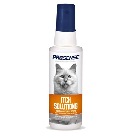 Pro-Sense Itch Solutions Cat Hydrocortisone Spray, 4 oz.