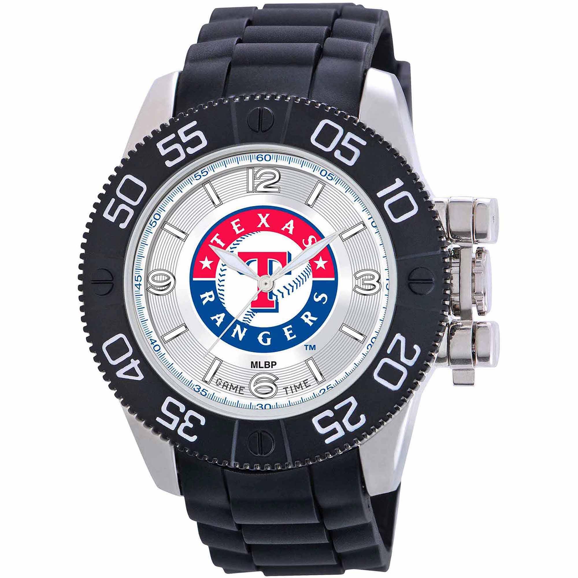 Game Time MLB Men's Texas Rangers Beast Series Watch