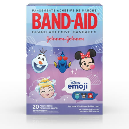Band-Aid Adhesive Bandages, Disney Emoji Characters, Assorted Sizes 20 ct - Disney Character Ideas For Dressing Up