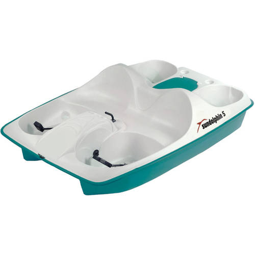 Sun Dolphin 5 Seat Pedal Boat by KL Industries, Inc