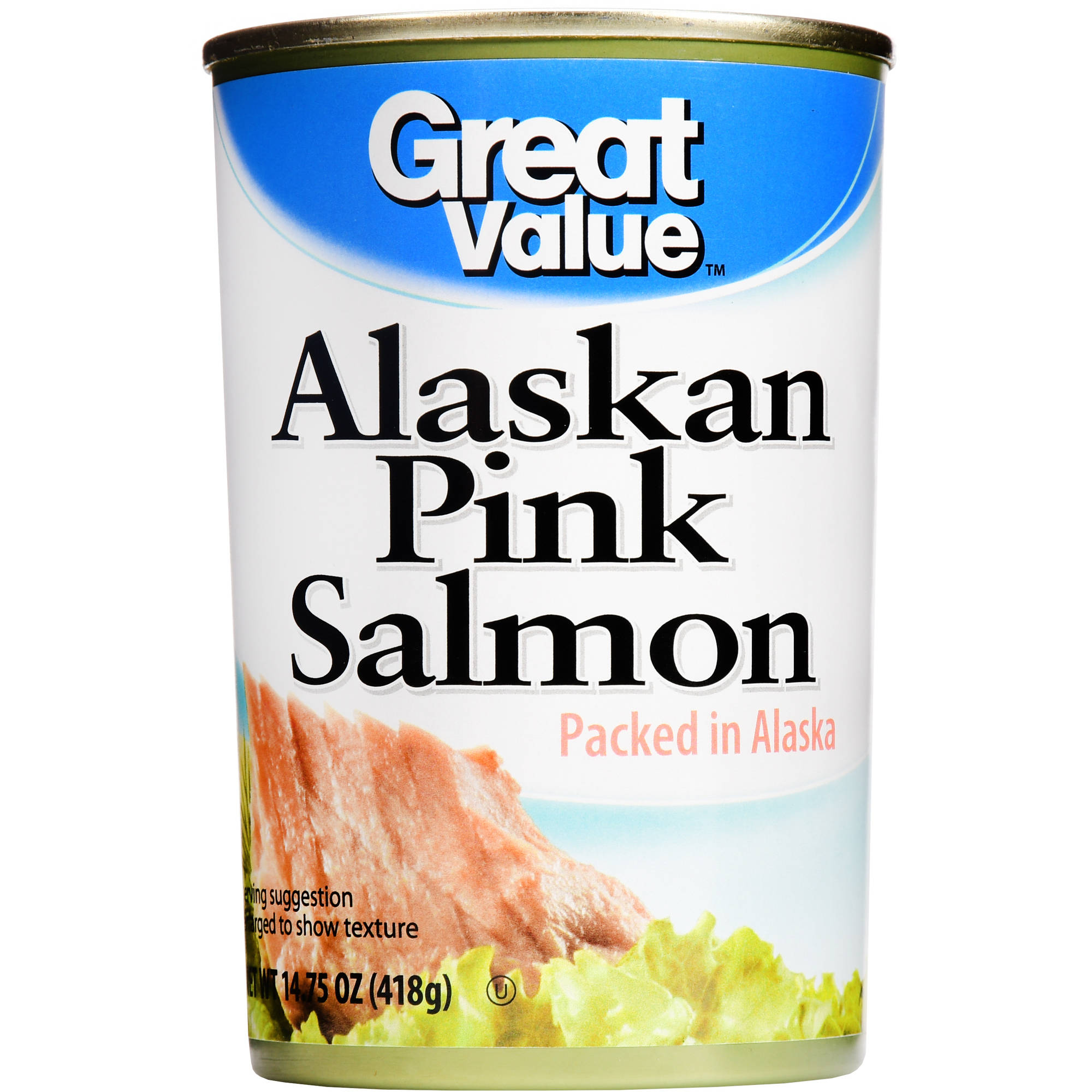 Great Value: Alaskan Pink Salmon, 14.75 Oz