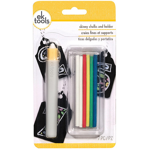 Skinny Chalk Holder with 6 Chalk Sticks