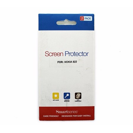 Smart Series 2pk Screen Protector for Nokia Lumia 822