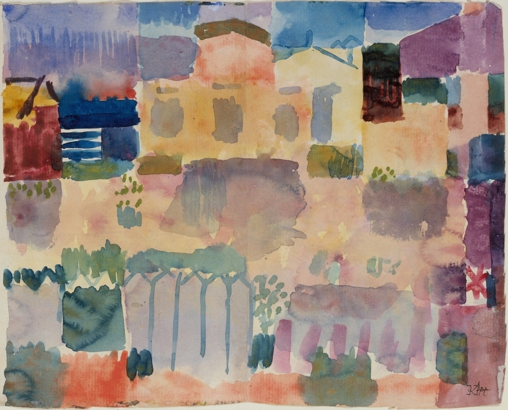 Garden In St. Germain Fine Art (24 x 18) - Walmart.com - Walmart.com