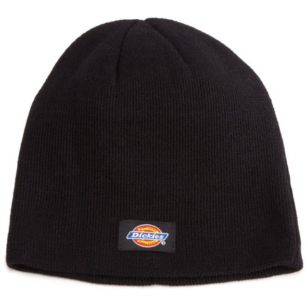 6e44ce49910 Dickies Core 874 Black Basic Knit Beanie Hat with Visor 9