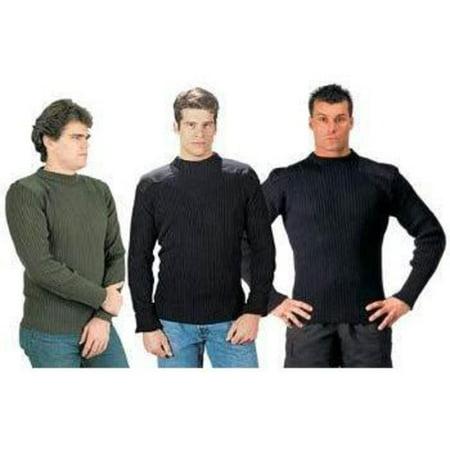 6x - Acrylic Commando Sweater Multi-Colored - Acrylic Sweaters