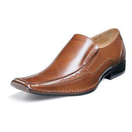 40afeba733a Stacy Adams - Stacy Adams Mens TEMPLIN Leather Slip On Comfort Dress Shoes  - Walmart.com