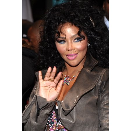 Lil Kim In Attendance For Grand Opening Of La Scala Nyc Stretched Canvas -  (8 x 10)