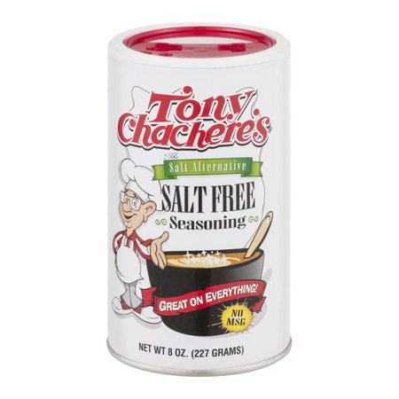 Tony Chacheres Salt Free Seasoning  8 0 Oz