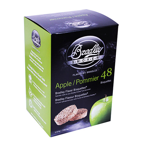 Bradley Apple Bisquettes 48 Pack