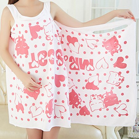 Bath-Wearable-Dress-Girls-Women-Fast-Drying-Super-Absorbent