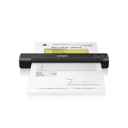 Epson WorkForce ES-50 Portable Sheet-fed Document Scanner for PC and (Best Business Card Scanners)