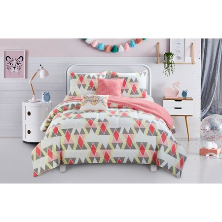 Better homes gardens scattered diamond 5pc comforter set - Better homes and gardens comforter sets ...