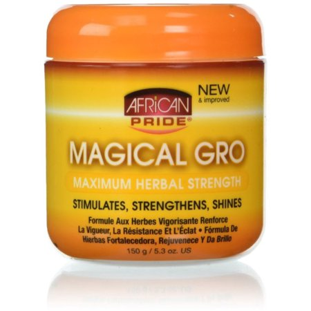 African Pride  Magical Gro MAXIMUM Herbal Strength, 5.3 oz (Pack of - Africas Best Super Gro