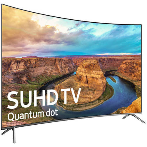 "Refurbished Samsung 65"" Class KS850D Series 4K Ultra HD, Curved, Smart, LED TV 2160p, 120Hz (UN65KS850DFXZA) by Samsung"