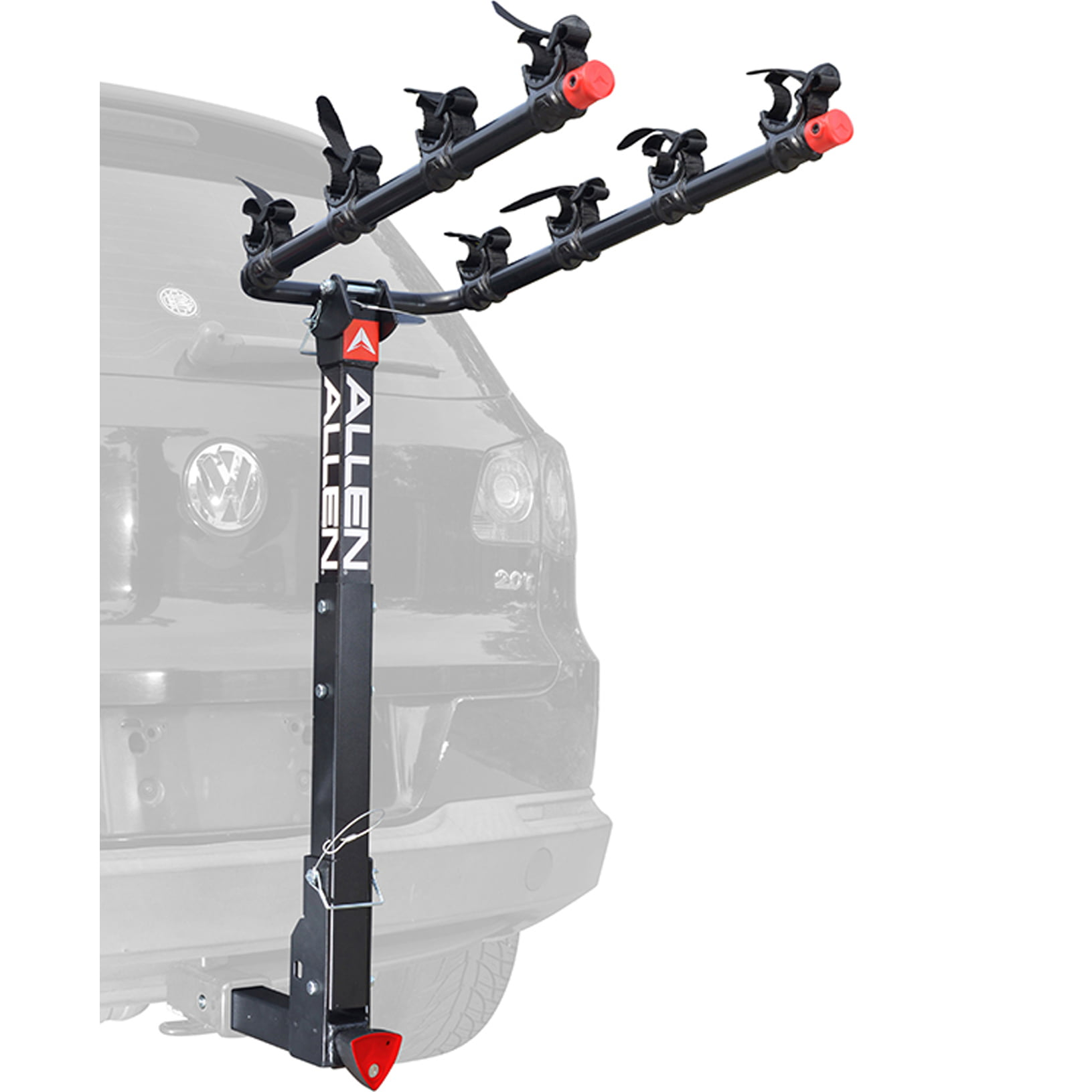 Allen Sports Deluxe Quick Install Locking 4-Bicycle Hitch Mounted Bike Rack Carrier, 542QR by THE R A ALLEN COMPANY INC