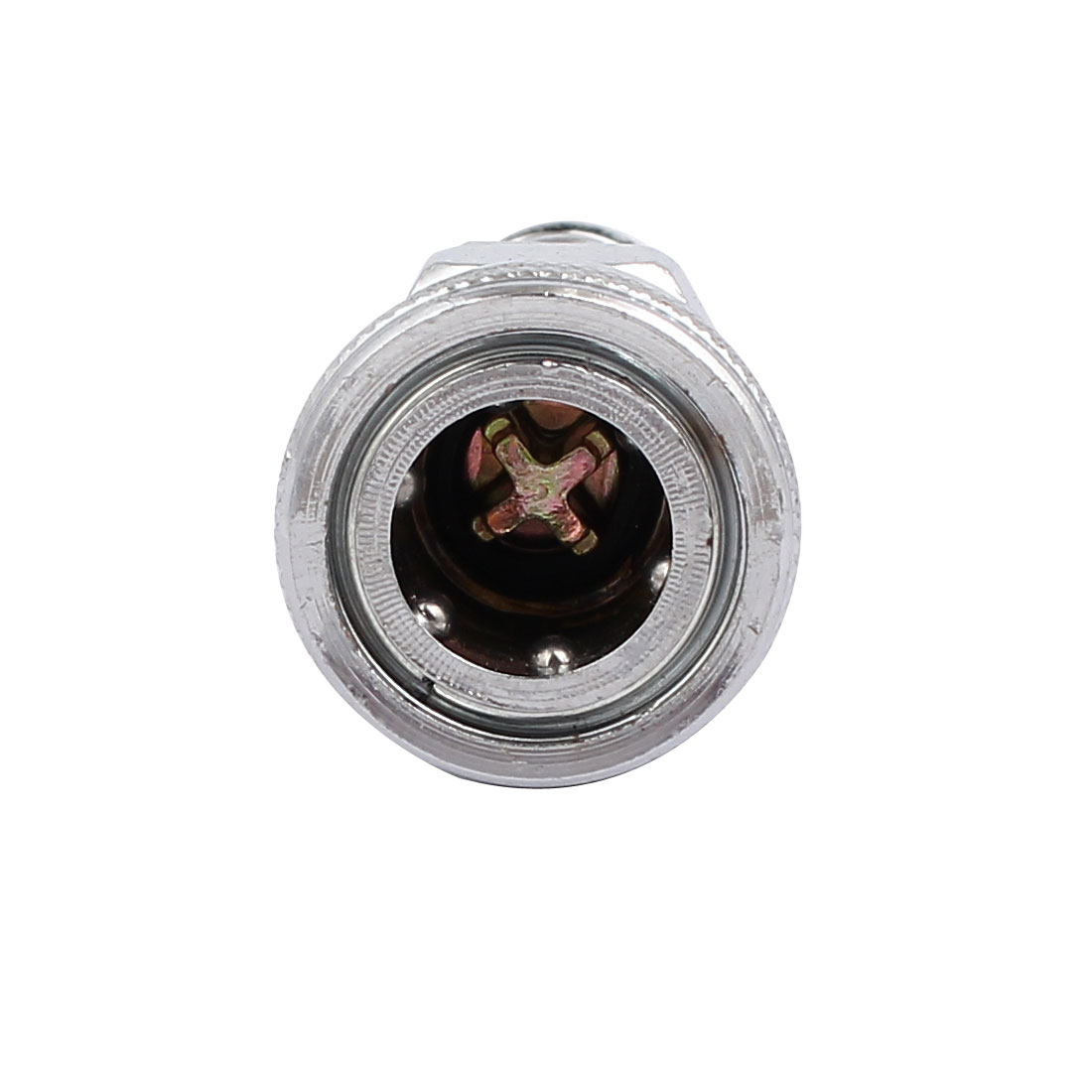 SH40 12mm Galvanized Air Hose Line Quick Coupler Connector for Compressor 10pcs - image 1 de 4