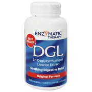 Nature's Way - DGL Deglycyrrhizinated Licorice Extract Soothing Digestive Relief Licorice - 100 Chewable Tablets