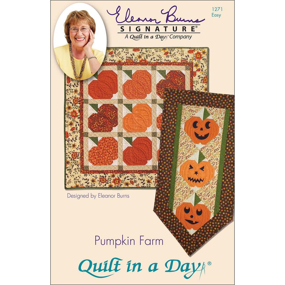 Eleanor Burns Patterns-Pumpkin Farm