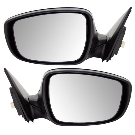 Driver and Passenger Power Side View Mirrors OEM Substitute 11-13 Hyundai Elantra Sedan Replaces 87610-3Y100 87620-3Y100 HY1320179 HY1321179