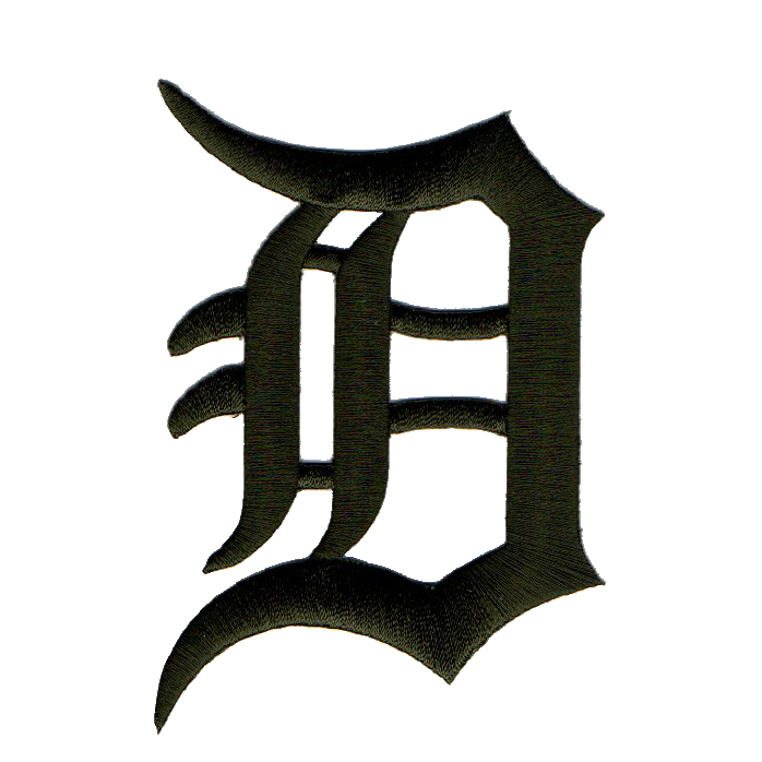 Detroit Tigers 2018 Memorial Day USMC Logo Patch - No Size
