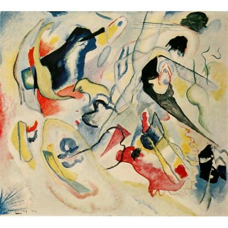 Wassily Kandinsky Artwork - Improvisation no29 1912 Poster Print by  Wassily Kandinsky