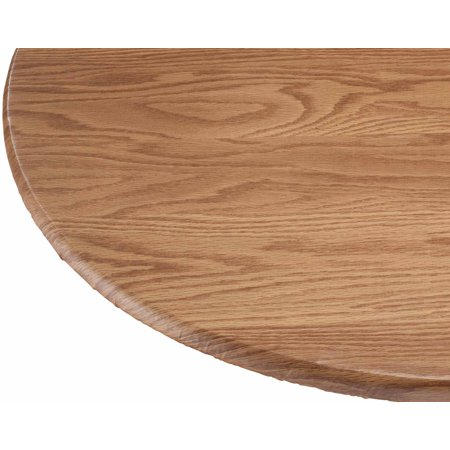 Wood Grain Vinyl Elasticized Table Cover 40 Quot 44 Quot Dia