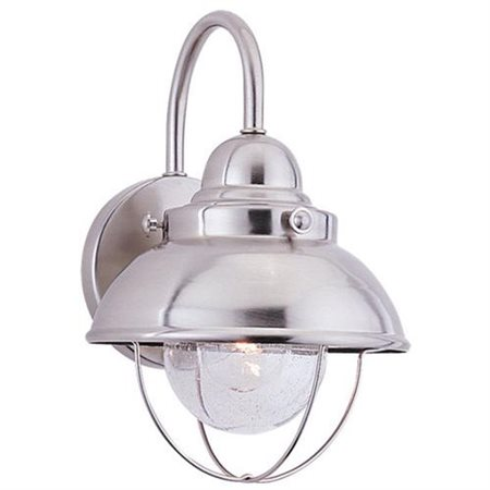 Sea Gull Lighting 8870 Sebring 1 Light Outdoor Lantern Wall Sconce