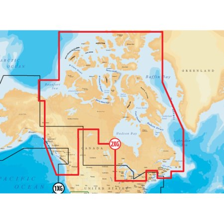 Map Of Southeast Canada.Gold Canada And Southeast Alaska Digital Marine Map