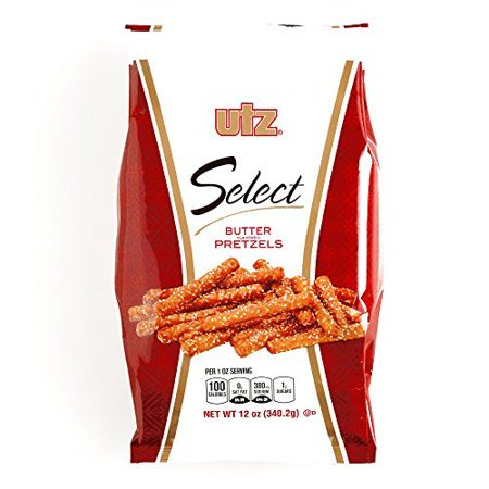 Utz Butter Pretzel Sticks 12 oz each (4 Items Per Order)