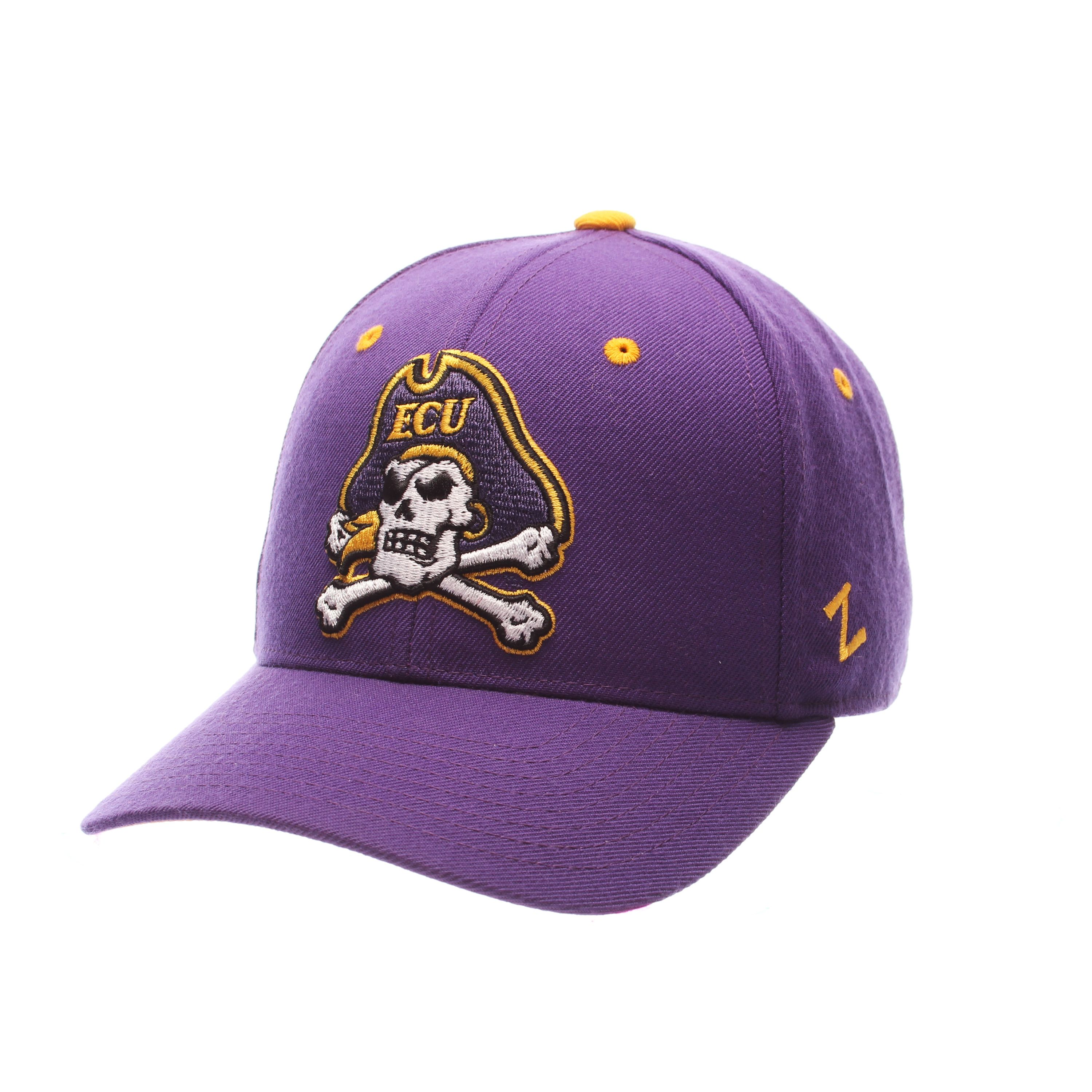 East Carolina Pirates DHS Fitted Hat (Purple)