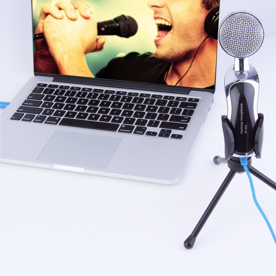 Tsing SF922 Condenser Microphone Home Studio Works For PC lapt op Computer