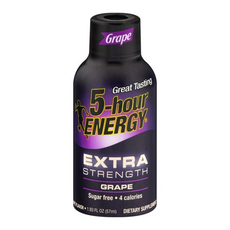 5 Hour Energy Drink 1,93 oz Grp Energy 728127 Lot de 12