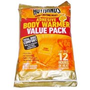 HotHands Adhesive Body Warmer Value Pack Long Lasting 8 Warmers