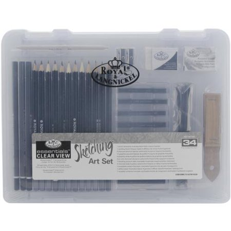 Royal Brush Clearview Small Sketching Art Set