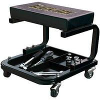 Torin Jacks TR6100W Creeper Seat, Black