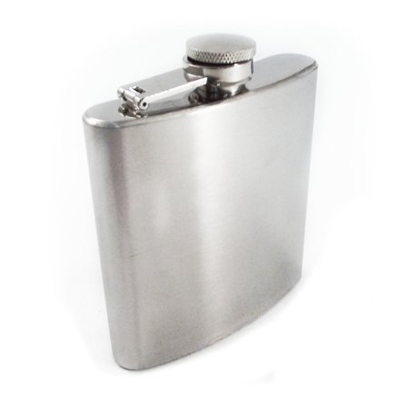Hip Flask Stainless Steel 6oz Alcohol Concealed Drinkware