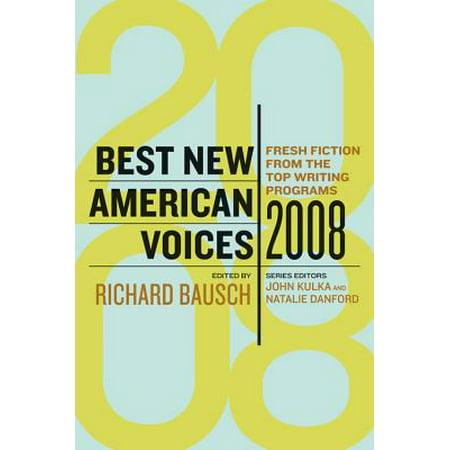 Best New American Voices 2008 (Best Voice Teachers In America)