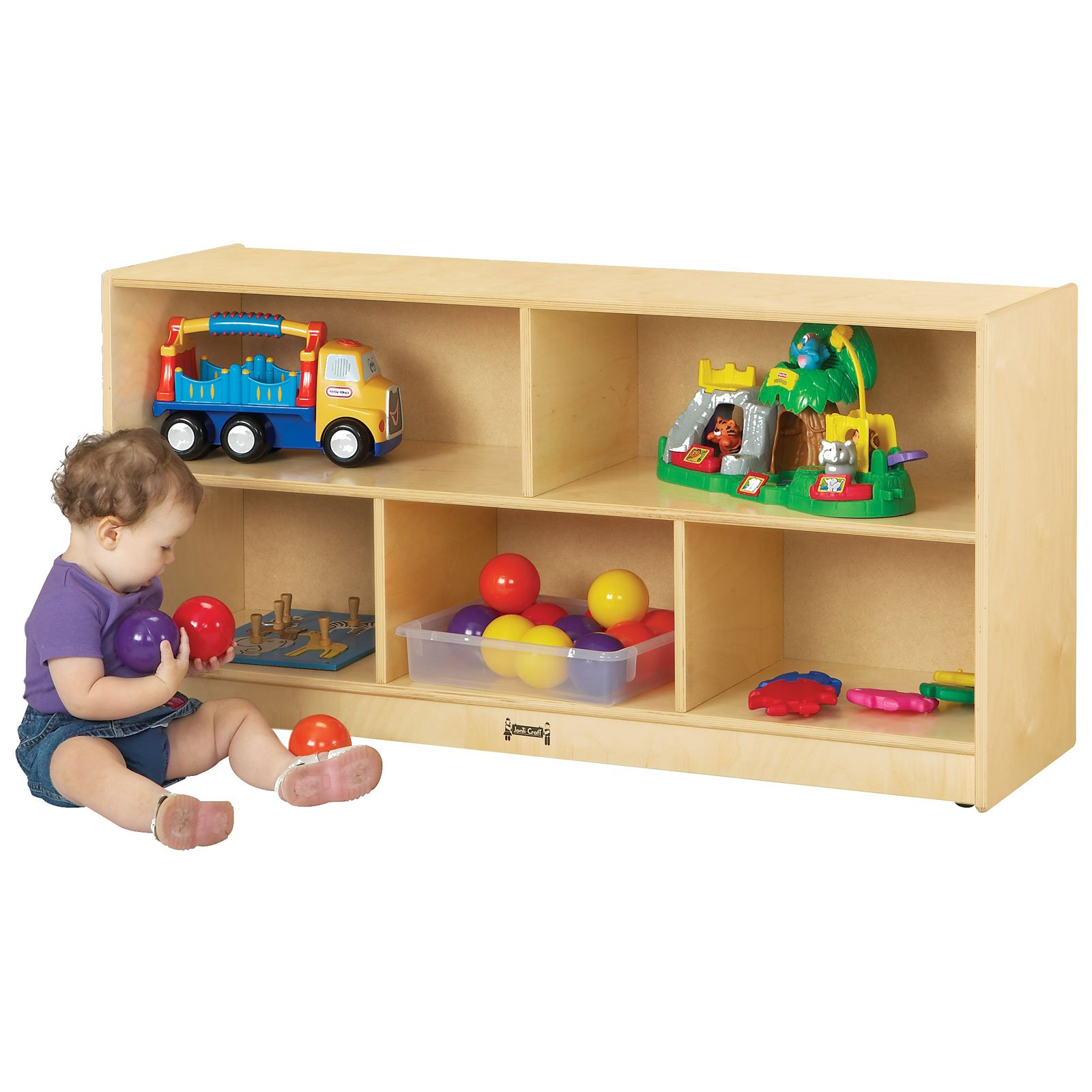 Jonti-Craft Toddler Single Storage Bookcase