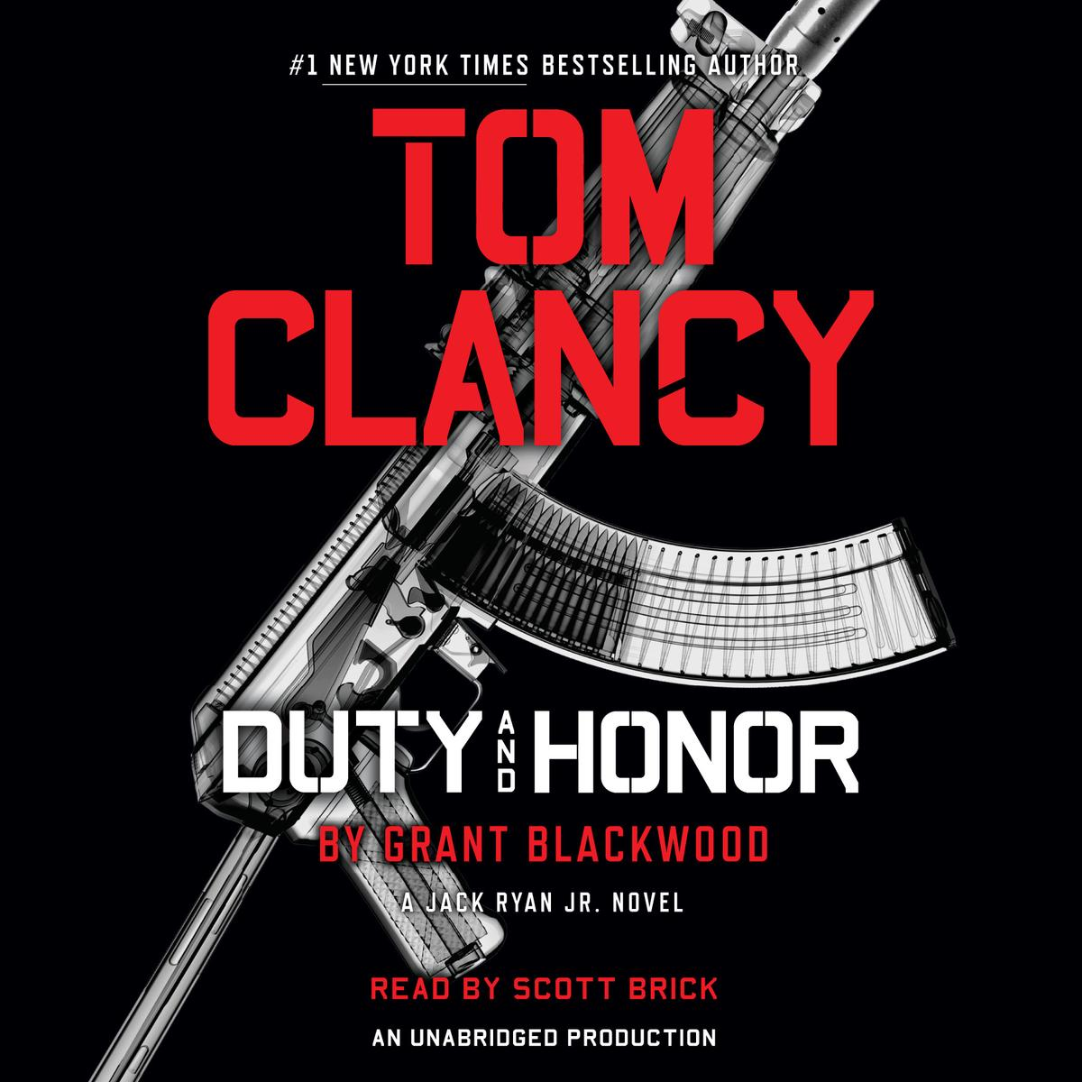 Tom Clancy Duty and Honor - Audiobook