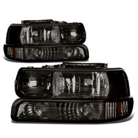 Product Image For 99 06 Chevy Silverado Tahoe Replacement Headlight Per 4 Pc Lamp