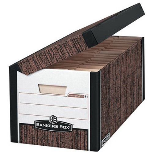 Fellowes Bankers Box Systematic, Letter/Legal, 12pk