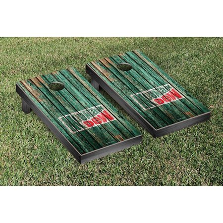 Victory Tailgate Mountain Dew Throwback Weathered Version Cornhole Game Set
