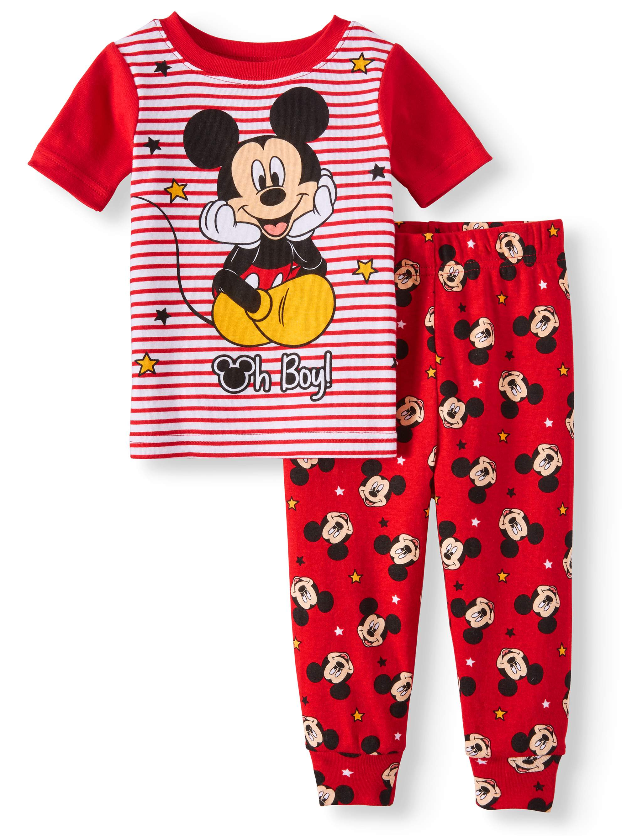 Mickey Mouse Pajamas, 2pc Set (Baby Boys)