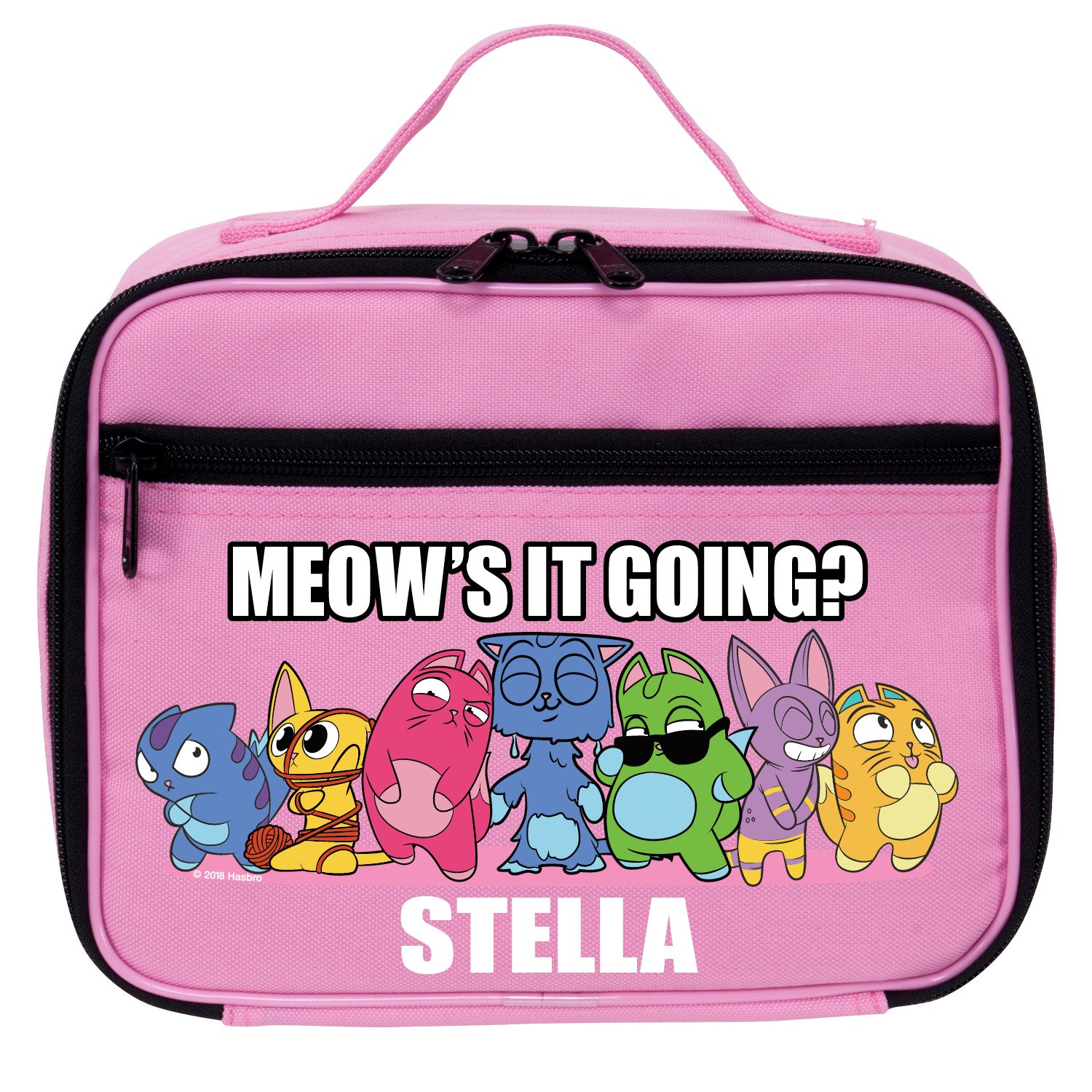Lost Kitties Meow's It Going Pink Kids Lunch Bag