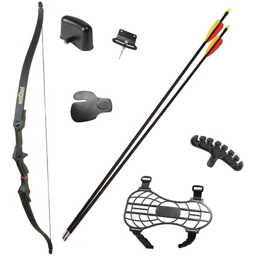 Crosman Archery Sentinel Recurve Bow Package (Right-Hand Use Only) by Crosman