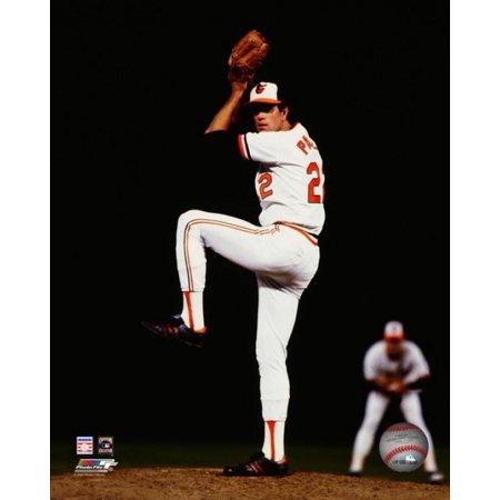 - Jim Palmer #22 winds up to pitch during game 6 of the 1979 World Series at Memorial Stadium October 16 1979 Photo Print