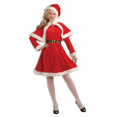 Miss Santa Classic Adult Costume (Santa Costumes For Adults)