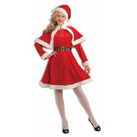 Miss Santa Classic Adult Costume (Miss Clause Costume)