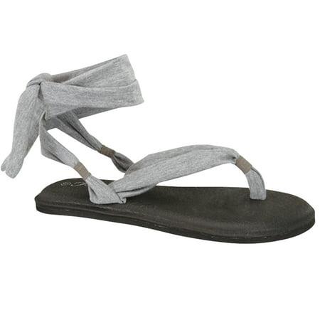 Women's Yoga Flip Flop Sling Gladiator Slingback Flat Thong Sandal (FREE SHIPPING)